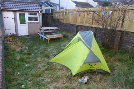 A great little 2-man tent: the Salewa Micra II.
